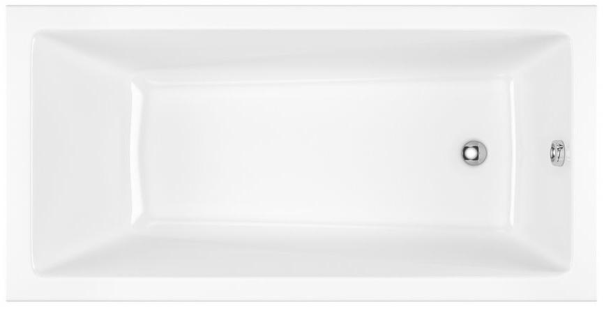 Excellent Wave Slim wanna prostokątna 160x70 biała WAEX.WAV16WHS