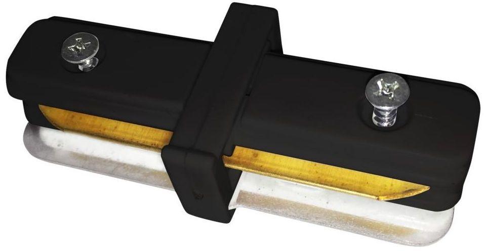 Łącznik prosty do systemu szynowego Track Light czarny Eko-Light