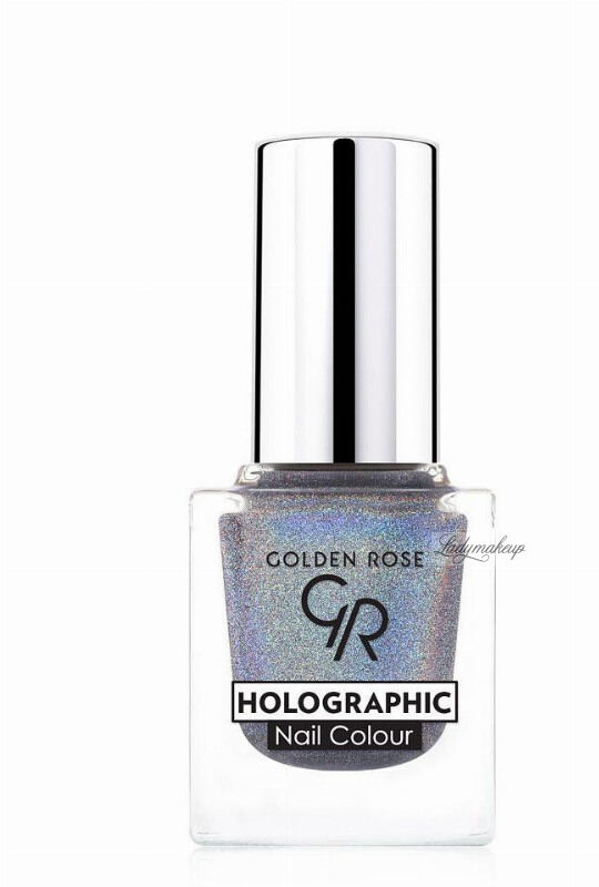 Golden Rose - HOLOGRAPHIC NAIL COLOUR - Holograficzny lakier do paznokci - 07