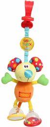 Playgro przyczepka do wózka dziecięcego Klipp składana mysz, od 0 miesięcy, Dingly Dangly Mimsy, pomarańczowa/kolorowa, 40144