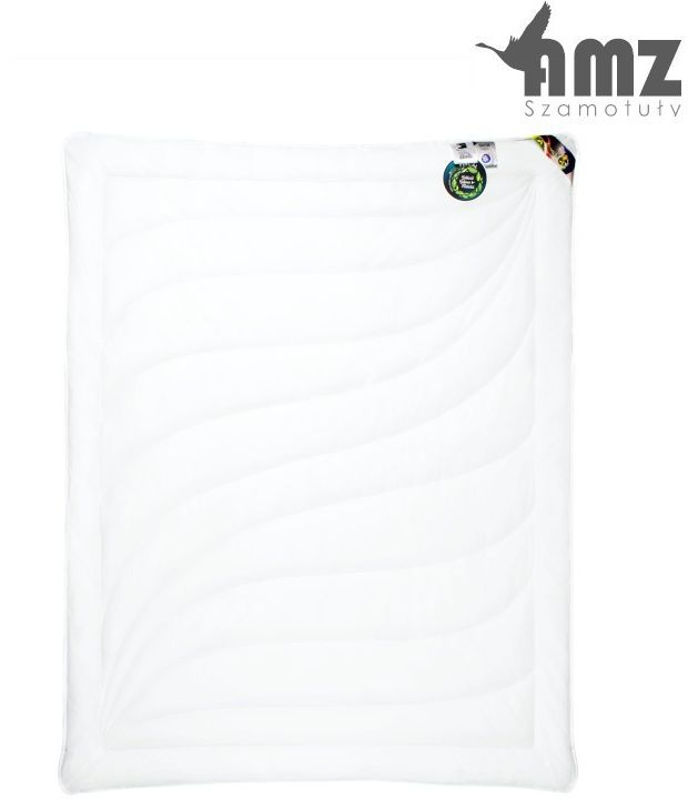 Kołdra antyalergiczna AMZ Cotton, Rozmiar - 180x200, Kolor - biały, Kołdra - letnia NAJLEPSZA CENA, DARMOWA DOSTAWA