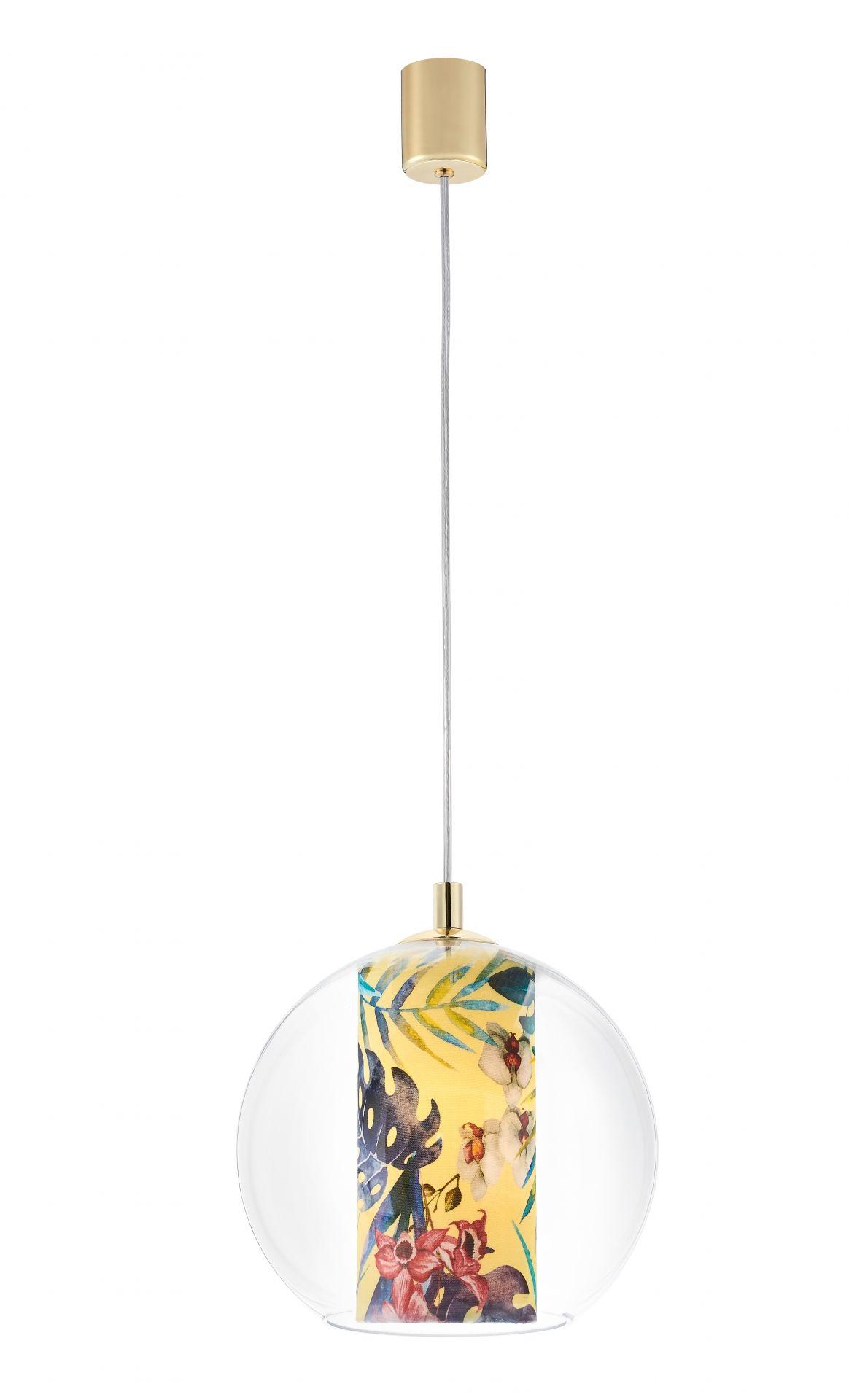Lampa wisząca Feria S 10901114 KASPA nowoczesna oprawa w kształcie kuli