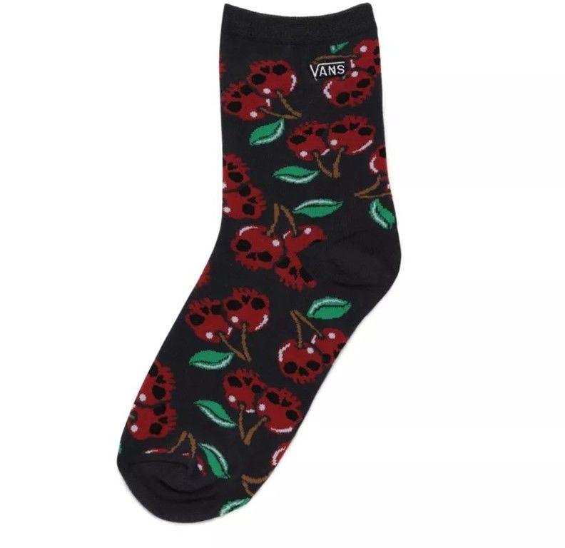 skarpetki VANS - Shinner Sock 6.5-10 1Pk Cherry Skull (ZL2)