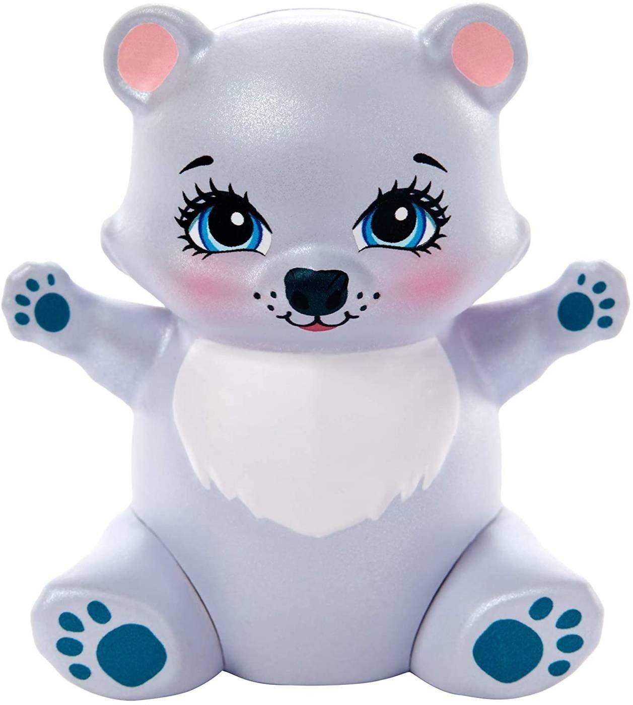 Enchantimals Rodzina misi polarnych Pristina Polar Bear + 3 misie GJX47