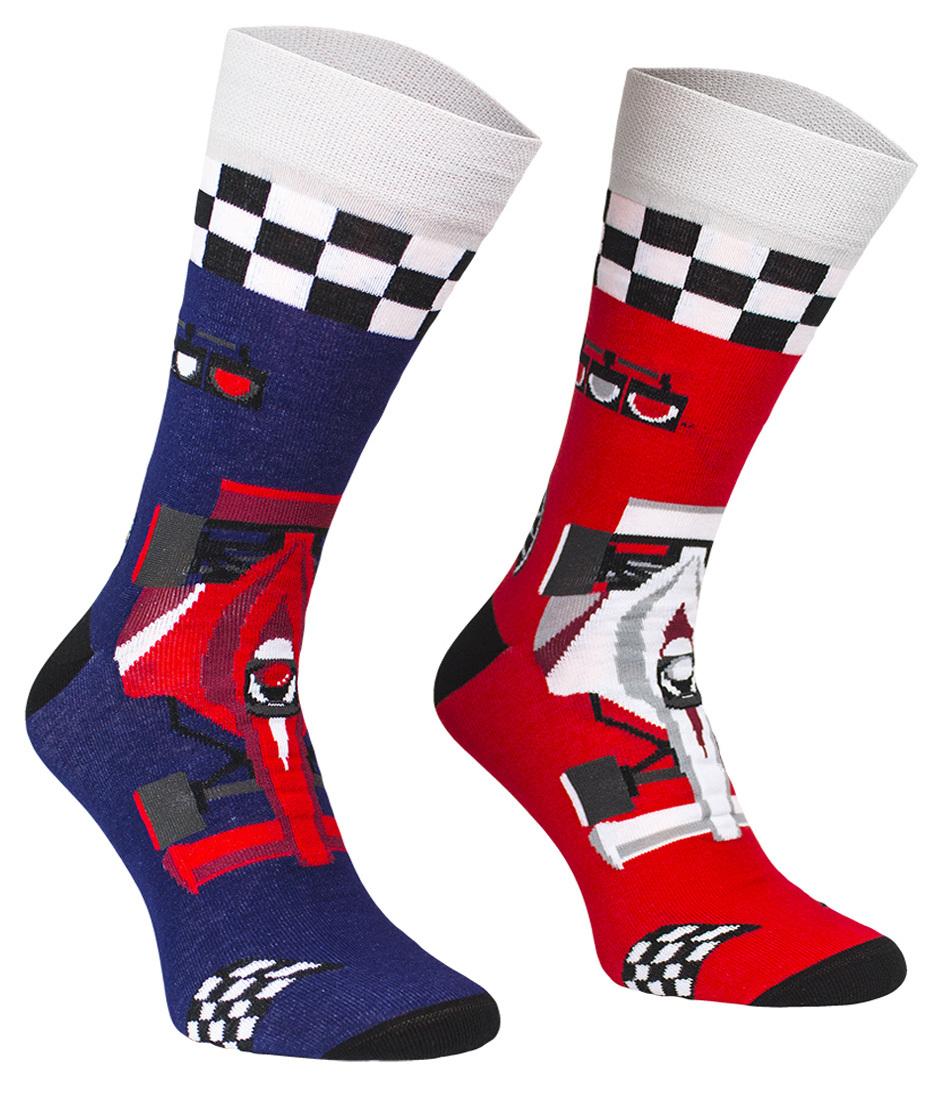 Formuła F1, Todo Socks, Wyścigi, Rajdy, Bolid, Kolorowe Skarpetki