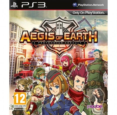 Aegis of Earth Protonovus Assault PS 3