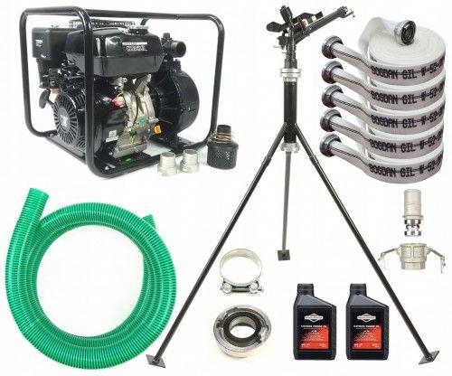 Motopompa ciśnieniowa zraszacz węże do nawadniania podlewania mega zestaw Holida 10bar nr. 2