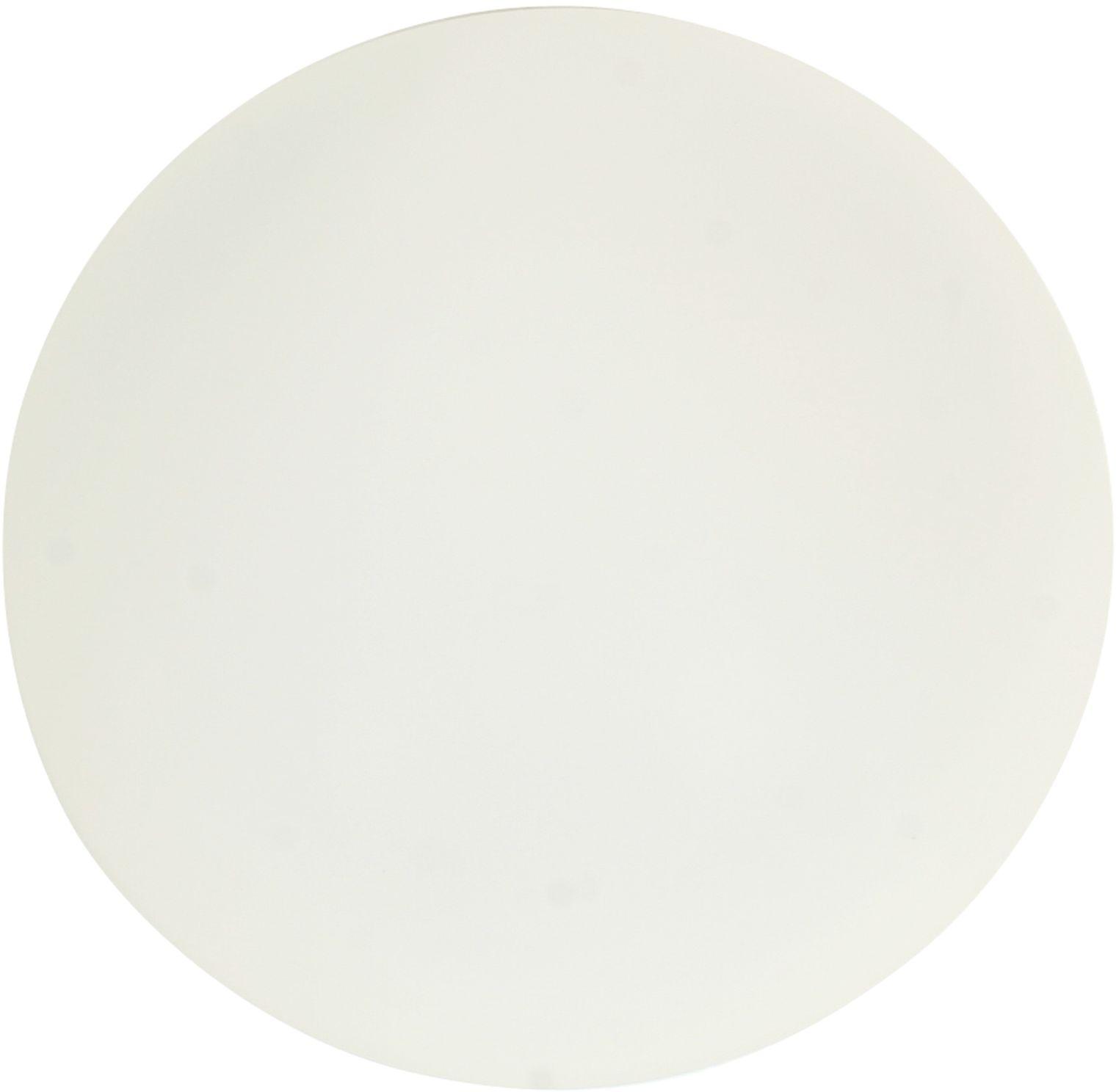 Candellux NINA 12-74150 plafon lampa sufitowa biały szklany klosz 1X60W E27 17cm