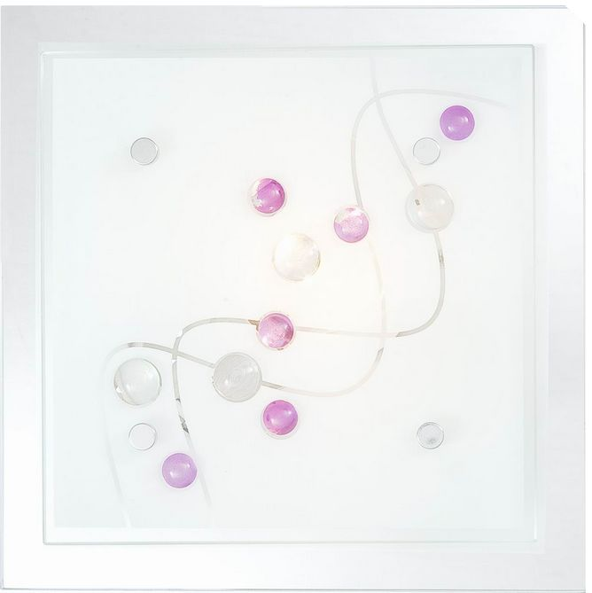 Globo plafon lampa sufitowa Ballerina 48072 szkło 24cm