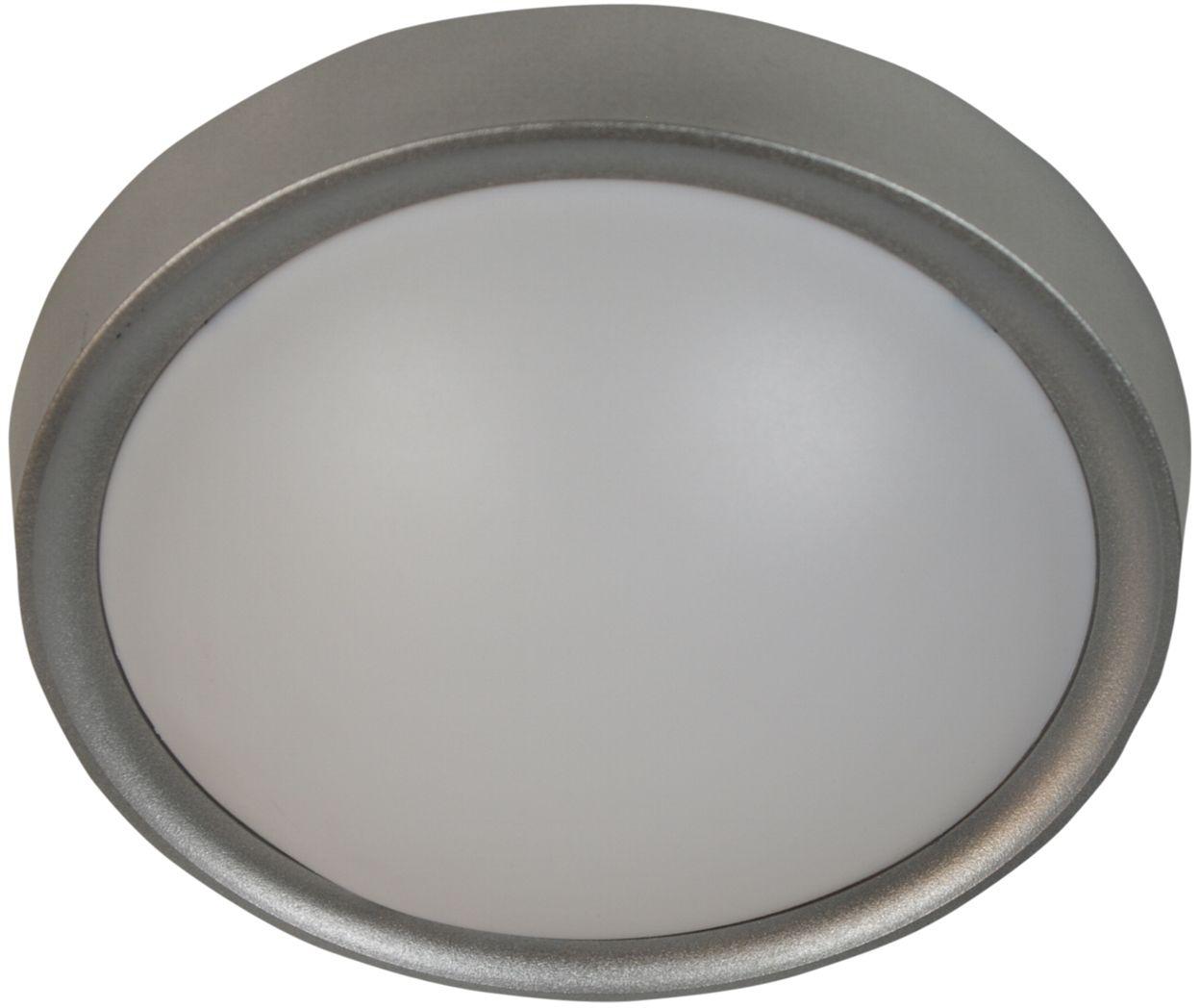 Candellux VATAN 13-11438 plafon lampa sufitowa szara 1X11W E27 30cm