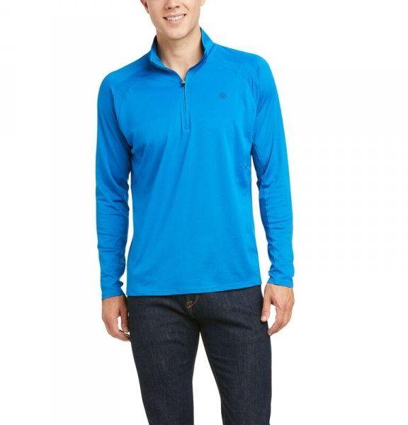 Bluzka męska SUNSTOPPER SS21 - Ariat - imperial blue
