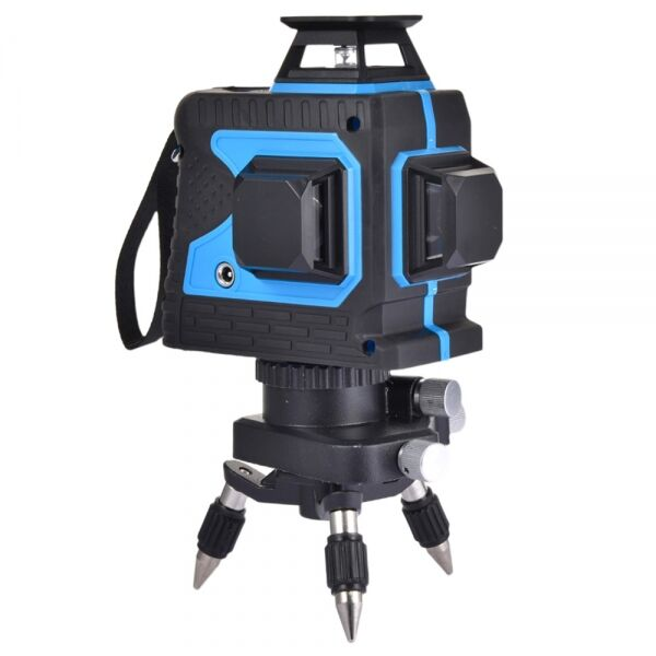 laser Level, Atralife 12 Lines With Automatic Horizontal Line 360 3D Horizontal And Vertical Cross Line Green Laser Bea