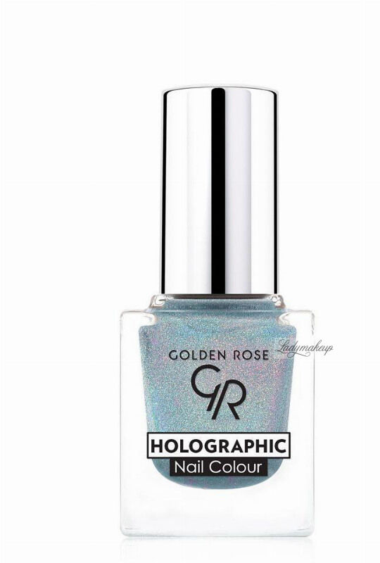 Golden Rose - HOLOGRAPHIC NAIL COLOUR - Holograficzny lakier do paznokci - 06