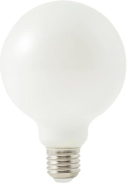 Żarówka LED Diall G95 E27 7,5 W 806 lm mleczna barwa neutralna
