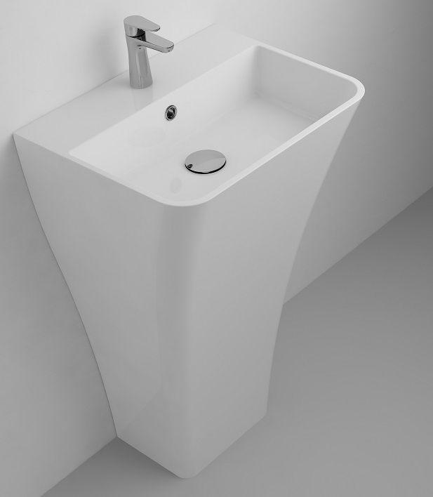 Marmite UM 0004 FS 500C umywalka wolnostojąca 50x40x85 cm biała 624865051103