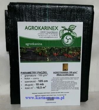 Agrotkanina super mocna 100 g/m2 1,05 X 10 mb. Paczka