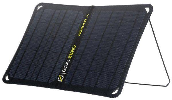 Goal Zero Nomad 10 - mobilny, elastyczny, składany i wodoodporny panel solarny.