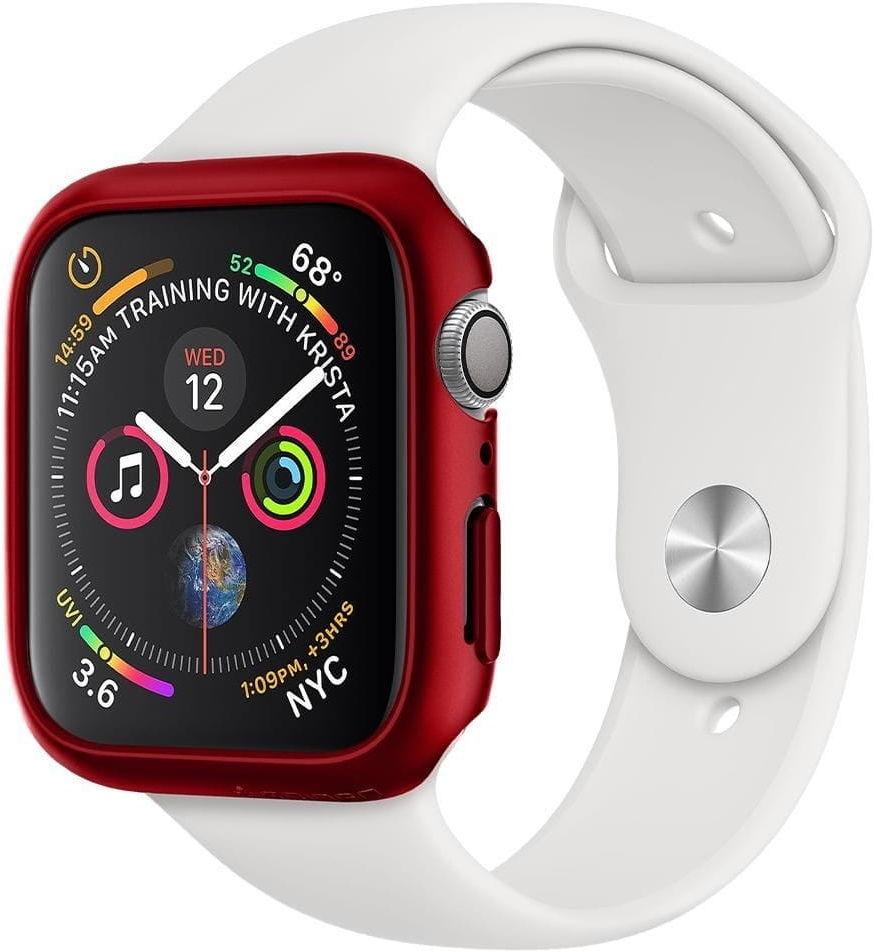 Etui Spigen Thin Fit Apple Watch 4/5 (44mm) Red