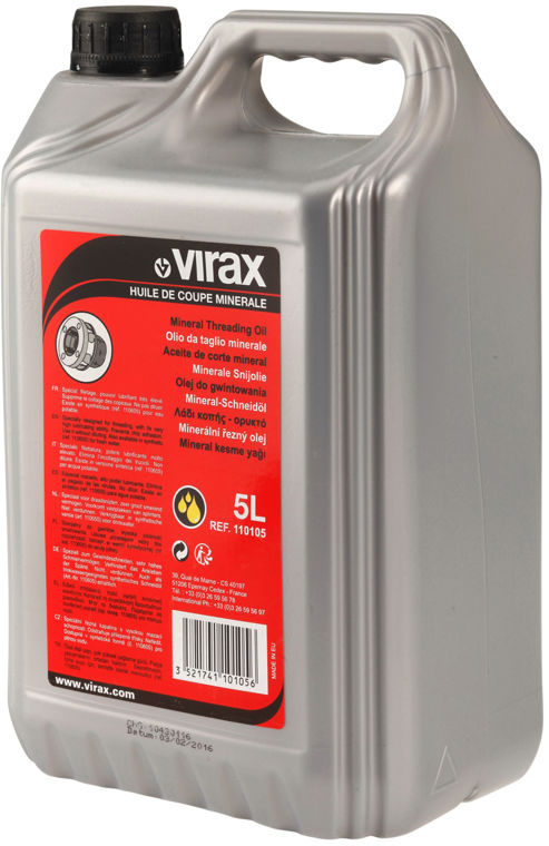 PROMOCJA !!! Olej mineralny do gwintowania 5L VIRAX 110105