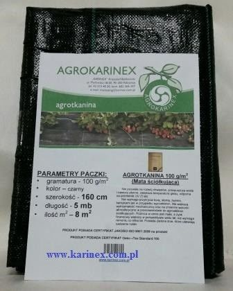 Agrotkanina super mocna 100 g/m2, 1,6 x 5 mb. Paczka