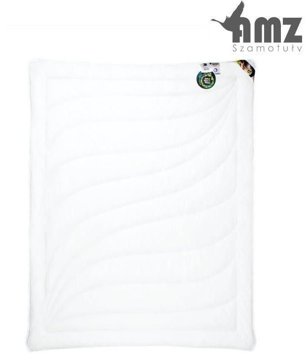 Kołdra antyalergiczna AMZ Cotton, Rozmiar - 180x200, Kolor - biały, Kołdra - całoroczna NAJLEPSZA CENA, DARMOWA DOSTAWA