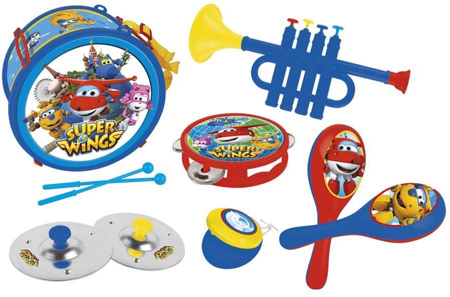 Super Wings 2112 zestaw instrumentów z motywem Krainy Lodu