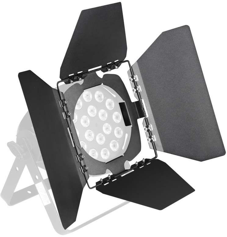 Cameo Light Studio PAR BARN DOOR 2 B - for Studio PAR black, skrzydełka do reflektora