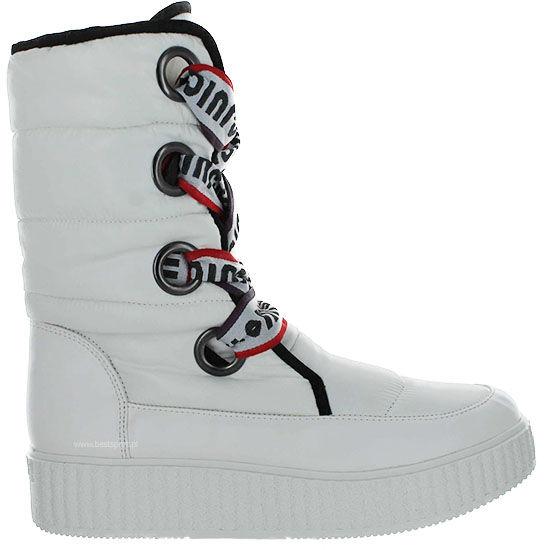 Śniegowce damskie Juicy Couture białeJJ155-BAO