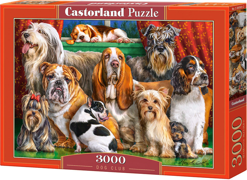 Puzzle Castor 3000 - Psi klub, Dog Club