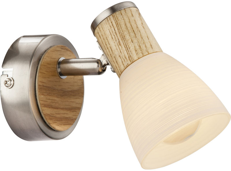 Globo GYLFI 54352-1 kinkiet lampa ścienna drewno 1xE14 40W 11cm