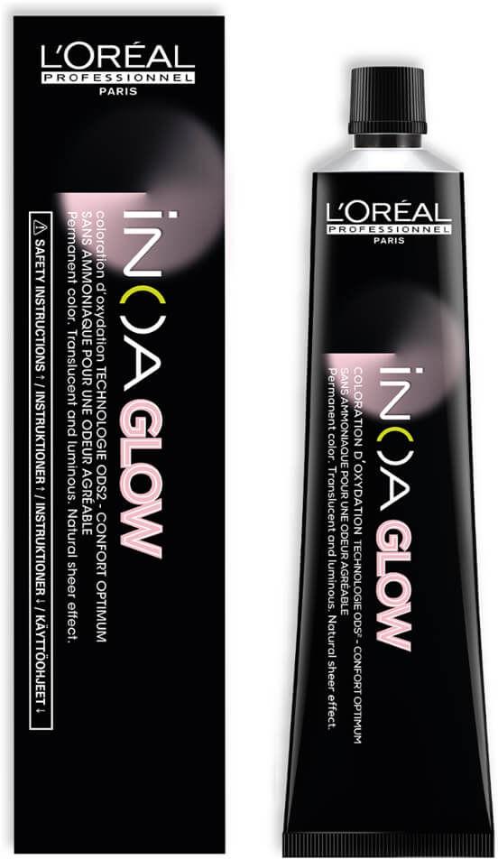 Loreal Inoa Glow Farba trwała do włosów z olejkiem arganowym bez amoniaku 60ml