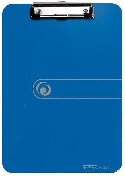 Deska z klipsem A4 Herlitz - EasyOrga - niebieska