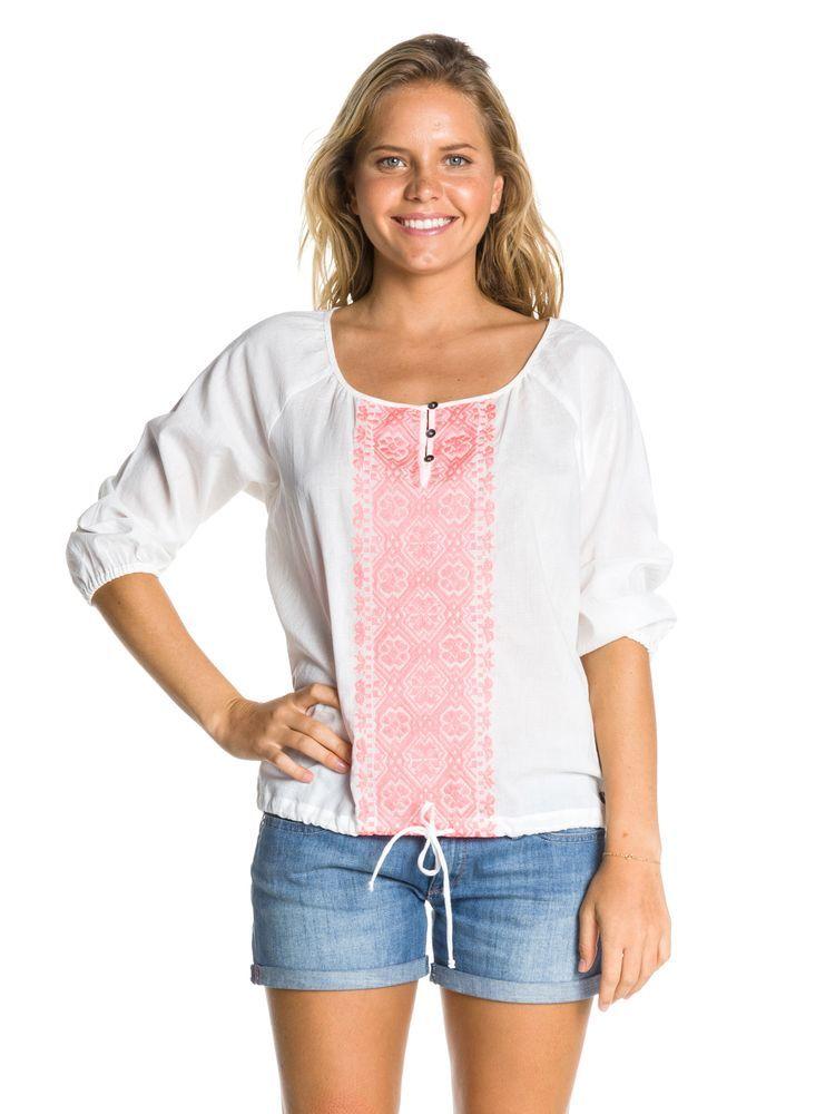 t-shirt damski ROXY SEASIDE WBS0