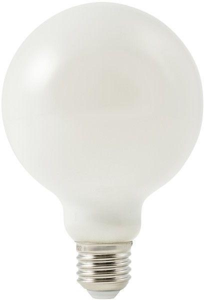 Żarówka LED Diall G95 E27 13 W 1521 lm mleczna barwa ciepła DIM