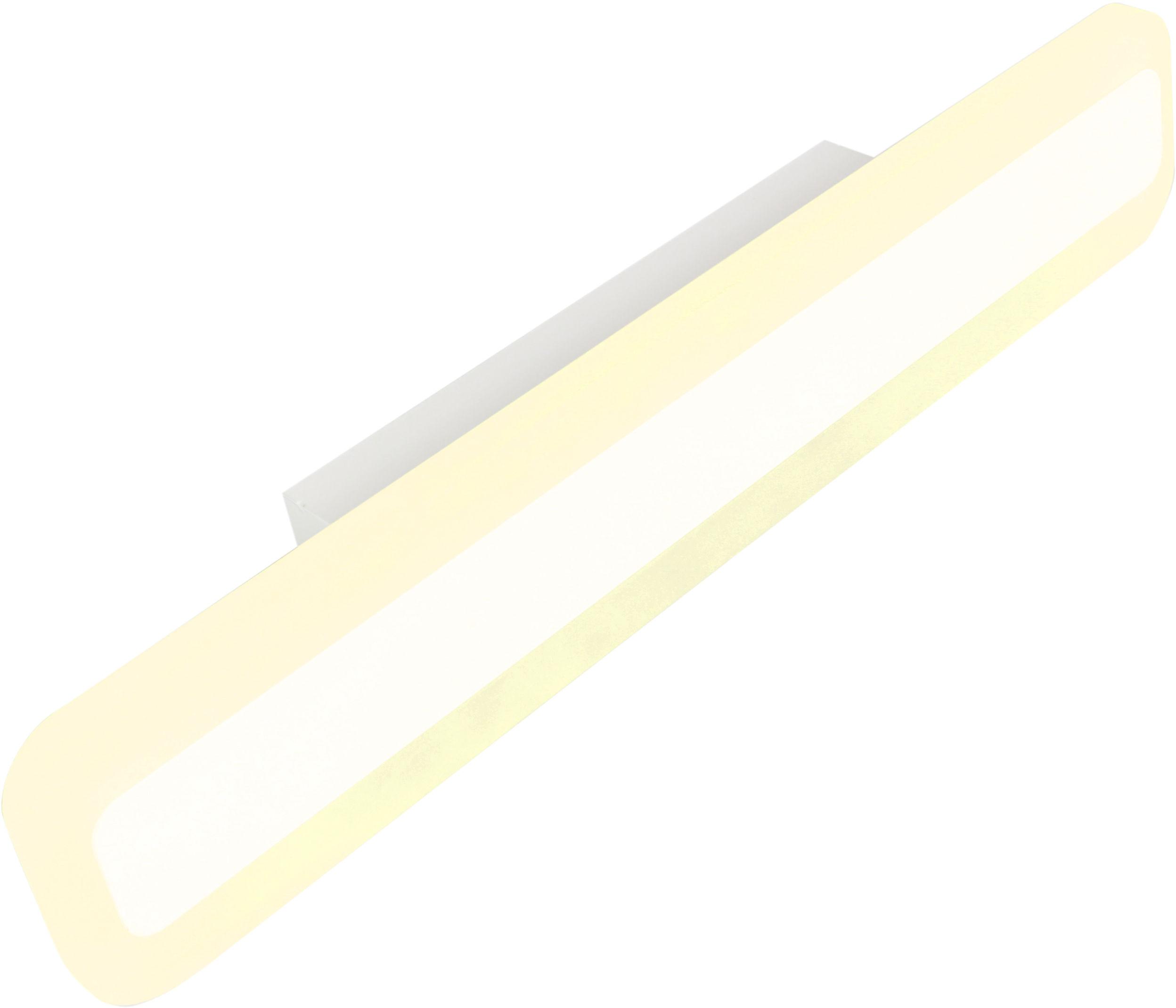 Candellux MUSE 21-69795 kinkiet lampa ścienna biała akryl 10W LED 4000K 40cm