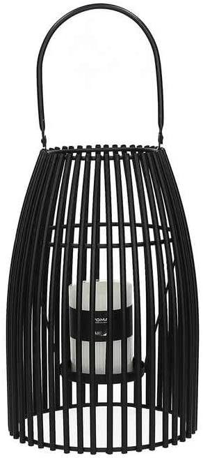 Pomax DEC3950018 latarnia, czarna, 23 x 23 cm