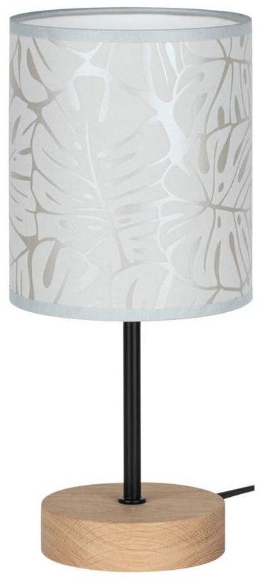 Lampa stołowa Mateo drewniana E27 Spot-Light