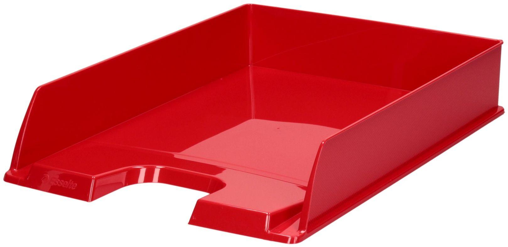Półka dokumenty A4 czerwona Europost Vivida