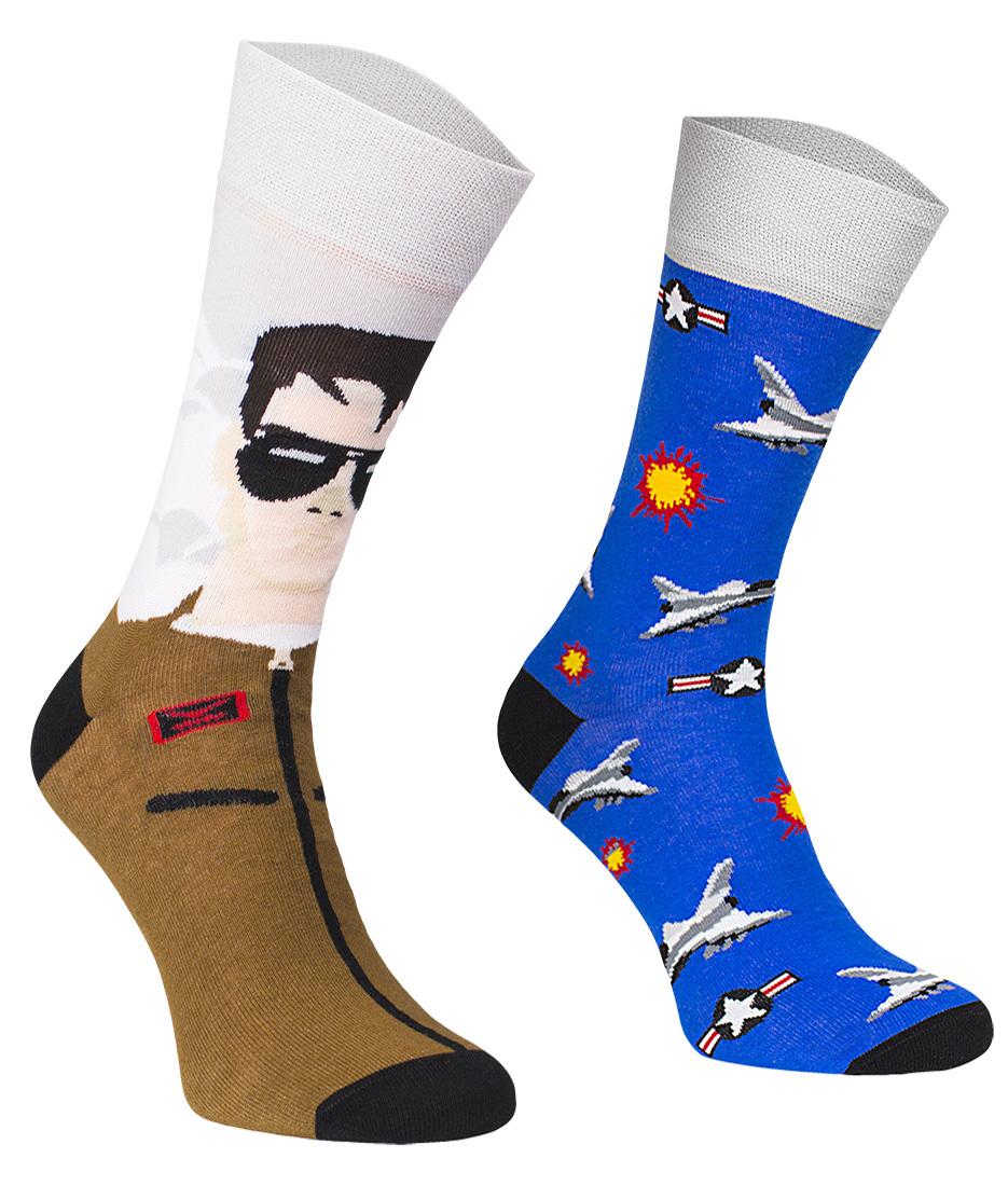 Top Gun, Todo Socks, Samolot Bojowy, Kolorowe Skarpetki