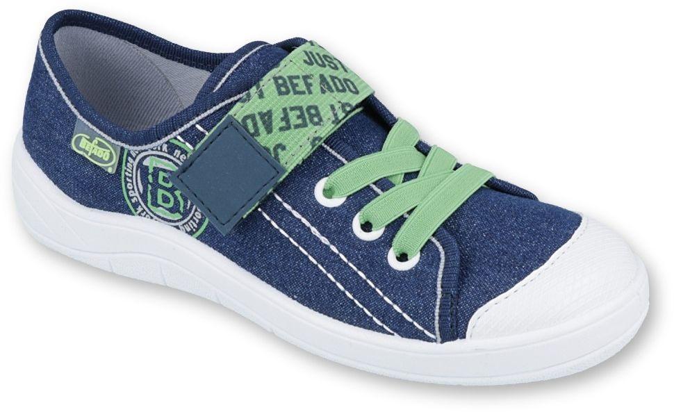 BEFADO 251Y128 jeans zielony