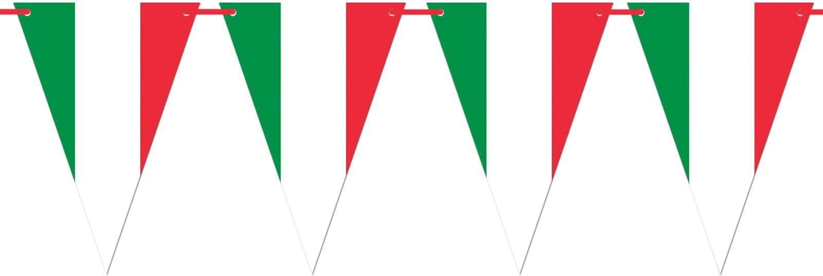 Baner wiszący Flaga Włoch - 5 m