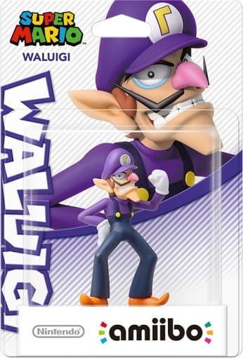 Amiibo Super Mario - Waluigi