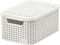 Koszyk CURVER Style Box S V2 + LID - OWH885 Kremowy