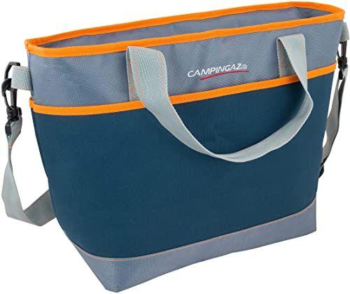 Campingaz Torba chłodząca Tropic 19 l, torba izolacyjna z paskiem na ramię, chłodzi do 8 godzin, składana torba na zakupy, kemping lub jako torba piknikowa