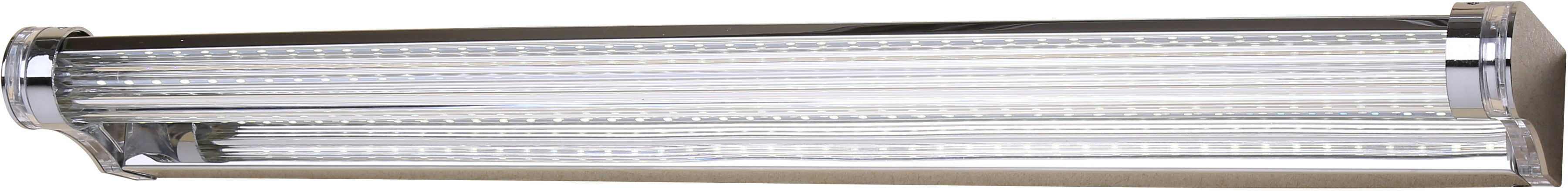 Candellux MODERNO 20-40794 kinkiet lampa ścienna stal nierdzewna polerowana 9W LED akryl 58cm