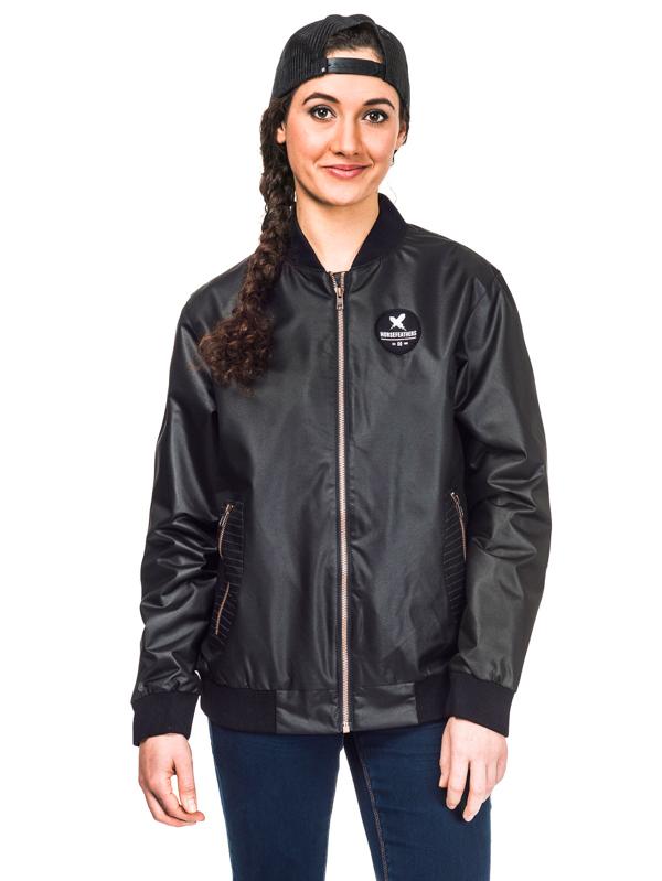 Horsefeathers DORIAN black wiosna kurtki kobiety - S
