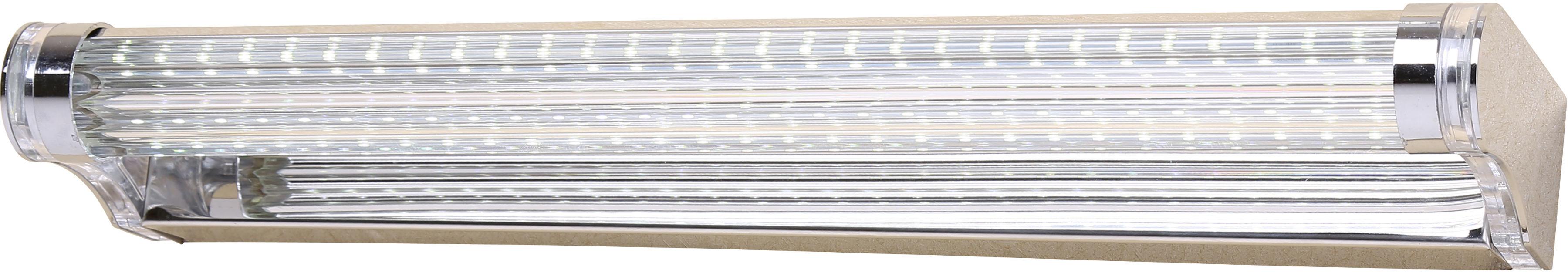 Candellux MODERNO 20-40800 kinkiet lampa ścienna stal nierdzewna akryl 7W LED 42,5cm