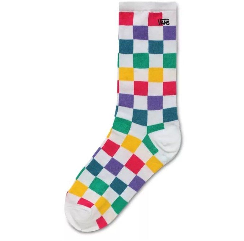 skarpetki VANS - Ticker Sock 6.5-10 1Pk Checker Block (ZL1)