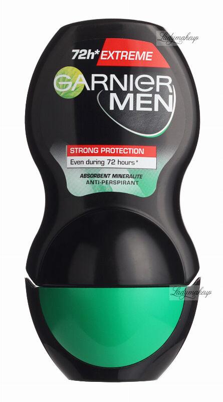 GARNIER - MEN - EXTREME STRONG PROTECTION 72H ROLL ON - Silny antyperspirant w kulce dla mężczyzn - 50 ml