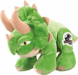 Schmidt Spiele 42761 Jurassic World, Triceratops, 25 cm pluszowa figurka